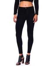 Fashion Lab - Suede High Rise 5 Pkt Skinny-2424774