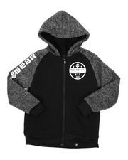 Hoodies - Sherpa Lining Fleece Hoodie (8-20)-2425031
