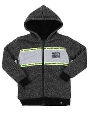 Hoodies - Sherpa Lining Fleece Hoodie (8-20)-2424917