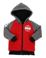 Hoodies - Sherpa Lining Fleece Hoodie (2T-4T)-2424927