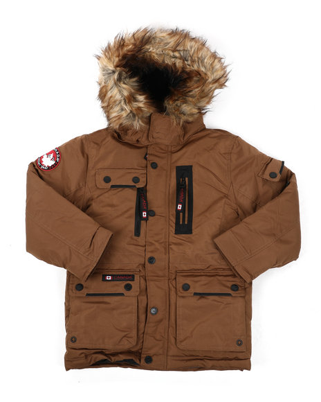 Arcade Styles - Canada Weather Gear Parka Jacket (8-20)