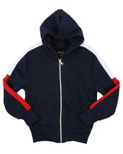 Hoodies - Full Zip Fleece Hoodie (8-20)-2424986