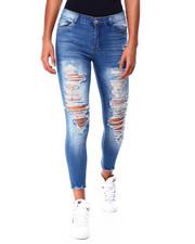 Women - Ripped 5 Pkt Skinny Jean-2424788