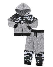 Arcade Styles - Hoodie & Sweatpants Set (2T-4T)-2423322