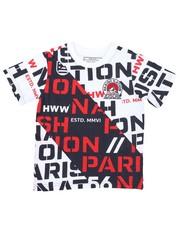 Boys - All Over Print Fashion Knit Tee (4-7)-2423927
