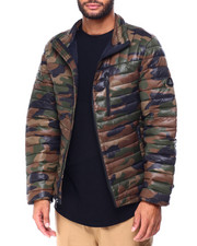 Heavy Coats - Camo CONTRAST TRANSITIONAL PUFFER-2425257