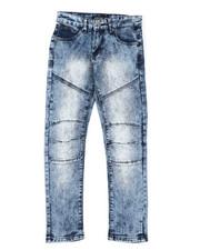 Bottoms - Destructed Knee Treatment Jeans (8-18)-2425811