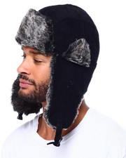 The Camper - Fur Lined Curdoroy Trapper Hat-2425673