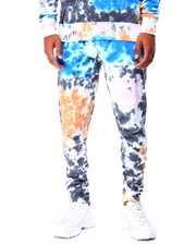 Jeans & Pants - Grey Tie Dye Sweatpant-2424730