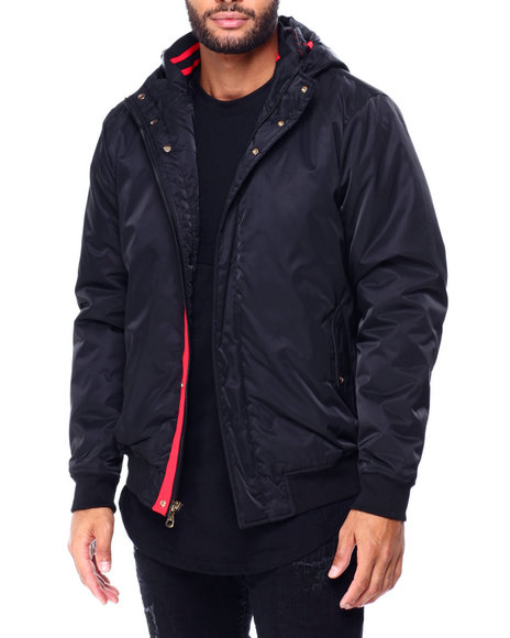 Buyers Picks - Satin Nylon Jacket w Hood
