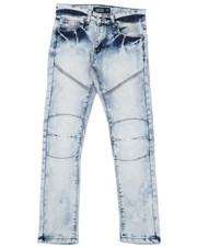 Bottoms - Destructed Knee Treatment Jeans (8-18)-2425780