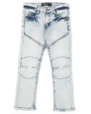 Boys - Destructed Knee Treatment Jeans (4-7)-2425837