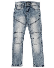 Bottoms - Destructed Knee Treatment Jeans (8-18)-2425706