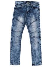 Boys - Destructed Knee Treatment Jeans (8-18)-2425792