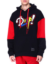 SWITCH - Drip Chenille Patch Drop Shoulder Hoodie-2425978