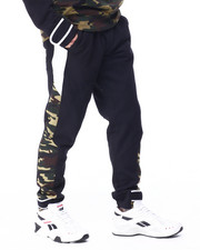 SWITCH - colorblock Fleece Jogger w Velcro-2425962