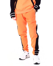 SWITCH - colorblock Fleece Jogger w Velcro-2425951