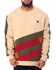 Makobi - Makobi Color Block Fleece Sweatshirt (B&T)-2426023