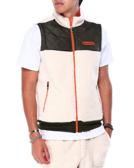 Akademiks - BIGWALL SHERPA QUILTED VEST