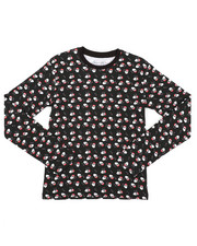 Ugly Christmas Shop - Holiday Printed Long Sleeve Tee (8-18)-2426059
