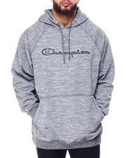 Champion - Pullover Fleece Hood W/Script Embroidery (B&T)-2426007