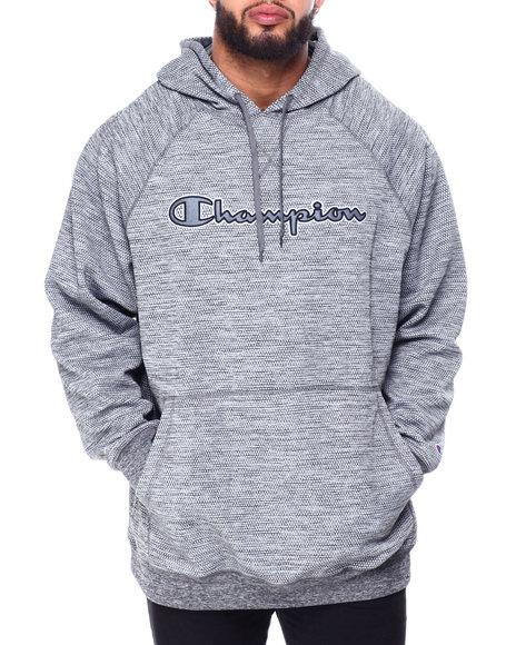 Champion - Pullover Fleece Hood W/Script Embroidery (B&T)