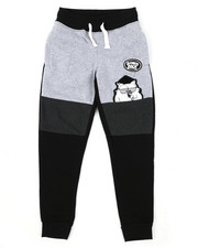 Bottoms - Southpole x Tootsie Fleece Jogger W/ Chenille Patch (8-20)-2426665