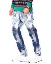 Makobi - Biker Jeans w Paint Spots-2426474