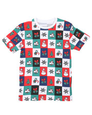 Arcade Styles - Holiday Printed Tee (8-18)-2426084