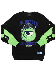 Sizes 4-7x - Kids - Cool Mike Crew Neck Sweatshirt (5-18)-2426302