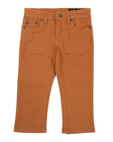 Buffalo - 5 Pocket Stretch Twill Pants (2T-4T)