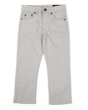 Buffalo - 5 Pocket Stretch Twill Pants (4-7)-2426430