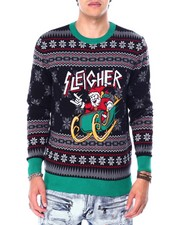 Ugly Christmas Shop - SLEIGHER SANTA UGLY XMAS SWEATER-2426409