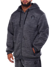 Akademiks - Full Sherpa Lined Zip Logo Hoody (B&T)-2426138
