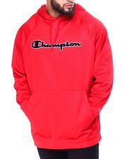 Champion - Pullover Fleece Hood W/Script Embroidery (B&T)-2425983