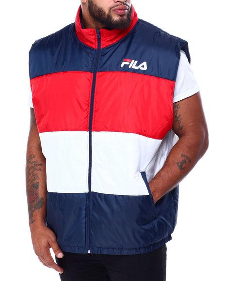 Fila - Color Block Puffer Vest (B&T)