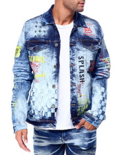 Copper Rivet - racing print jacket-2427000