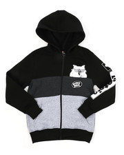 Boys - Southpole x Tootsie Full Zip Hoodie W/ Chenille Patch (8-20)-2427122