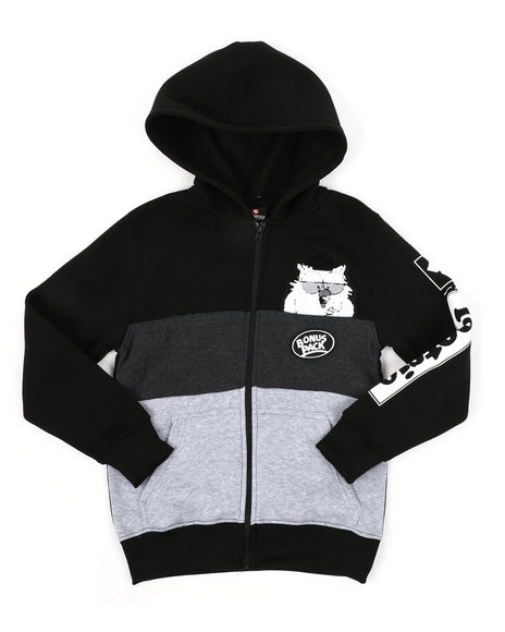 Arcade Styles - Southpole x Tootsie Full Zip Hoodie W/ Chenille Patch (8-20)