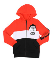 Hoodies - Southpole x Tootsie Full Zip Hoodie W/ Chenille Patch (8-20)-2427128