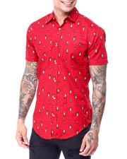 Men - Elf AOP SS Buttondown Shirt-2427569