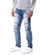 Men - MOTO JEAN W SEAM DETAIL-2427225