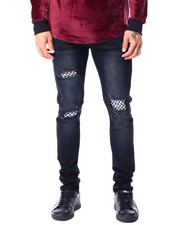 Jeans & Pants - Checkerboard Patch Jean-2427457