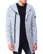 Buyers Picks - Ribbed Long sweater jacket-2427848