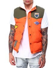 Parish - HIKING PATCH PUFFER VEST-2427660