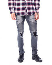 Jeans & Pants - Articulated Ripped moto Jean-2427554