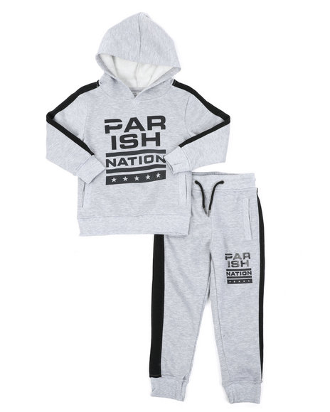 Parish - 2pc Pop Over Hoodie Set (4-7)