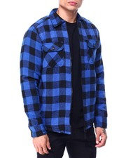Buyers Picks - Buffalo Plaid Fleece Lined Jacket-2427680