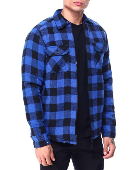 Buyers Picks - Buffalo Plaid Fleece Lined Jacket