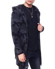 Buyers Picks - Camo Hooded Oversized Sweater-2427828